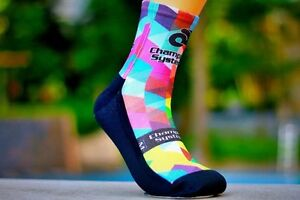Cycling Socks Champion Systems Bike Racing Riding Tri MTB Team Bicycle Sock