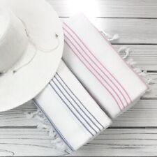 Basic Striped Turkish Towel, Peshtemal Spa,Travel, Beach Towel, Bath towel