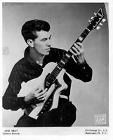 Rock And Roll Guitarist Link Wray Plays His Guitar 1958 OLD PHOTO
