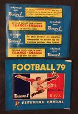 Bustina Pochette Packet Sealed Panini  France Championnat Foot Football 79 1979