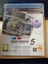 Gran Turismo 5: Academy Edition PlayStation 3 Versión Española Perfecto Estado