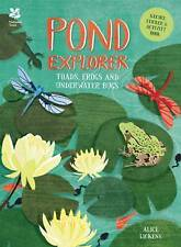 Pond Explorer: Nature Sticker & Activity Book by Alice Lickens