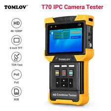 "4"" 1080P 4K IP CCTV Camera Tester Monitor Test Combine Security PTZ RJ45"