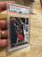 Michael Jordan PSA 6 Topps Stadium Club 1993 #169 Chicago Bulls INVEST Goat NR