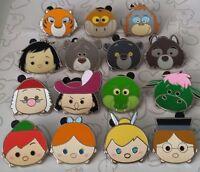 Tsum Tsum Mystery Pack Series 3 Jungle Book Peter Pan Disney Pin Make a Set Lot