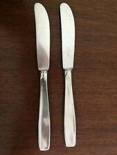 WMF Cromargan, Germany 18/8 Stainless Silverware - LINE - Dinner Knives (2)