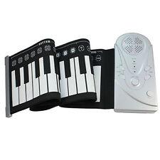 Flexible Soft 49-Key Digital Roll-up Electronic Keyboard Piano New Gift
