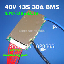 48V BMS 13S BMS Used For 48v 10ah 20ah 30ah 40ah 50ah Li-ion Battery Pack