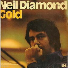 "12"" NEIL DIAMOND GOLD 70`s pop (Kentucky woman, solitary Man) uni records"
