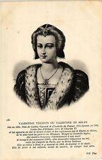 CPA Valentine Visconti ou Valentine de Milan Royalty Nobelty (315298)