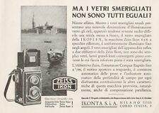 Z1251 ZEISS IKON IKOFLEX 6 x 6 - Pubblicità d'epoca - 1936 Old advertising