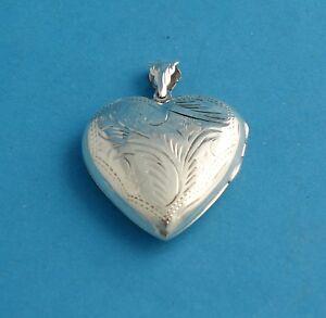 %%% Herzmedaillon, 925er Silber