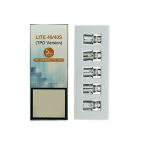 Jomo Lite 40/40S Coil Pack Of 5 TPD Compliant