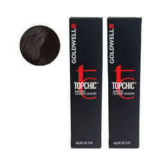 Goldwell Topchic Permanent Hair Color Tubes 5N Light Brown *2 SET*