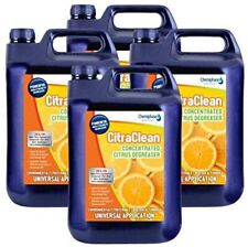 Citraclean - Powerful Citrus Degreaser and Cleaner- 4 x 5 Litres (20 Litres)