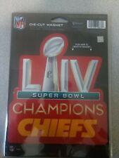 "Kansas city chiefs super bowl Champions  8"" X 8,"" Die Cut Magnet"