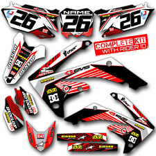 2015 2016 2017 YAMAHA YZ 125 250 GRAPHICS RIDGELINE: WHITE / RED DECALS GRAPHIC