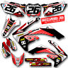 2003 2004 2005 2006 2007 CRF 150F 230F GRAPHICS KIT RIDGELINE: RED / GREY DECALS
