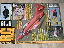 µµ Revue RC Pilot n°19 Plan encarté F14Tomcat & F22 Raptor / Gnome-Rhone R14