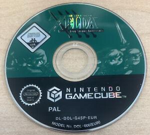 The Legend Of Zelda: Four Swords Nintendo GameCube **DISC ONLY*** Tested UK PAL