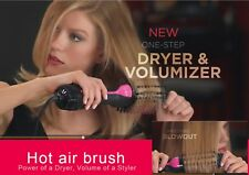 One Step Hair Dryer & Volumizer, Hot Air Brush Hair Straightener Curler Brush