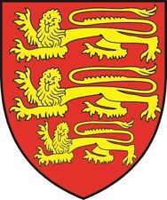 Aufkleber England Wappen Autoaufkleber Sticker Konturschnitt
