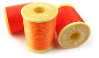 2 SPOOLS Fly Tying Thread,Gordon Griffiths Cobweb Superglo FL Colour Choice #6/0