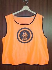 Holland KNVB Football Official Match worn training VEST Shirt Jersey Netherland