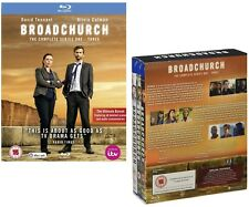 BROADCHURCH 1-3 (2014-2017): COMPLETE Drama TV Season Series - NEW BLU-RAY UK