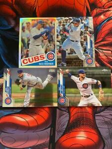 TOPPS CHROME baseball CHICAGO CUBS LOT inc NICO HOERNER 35TH ANNIVER SILVER