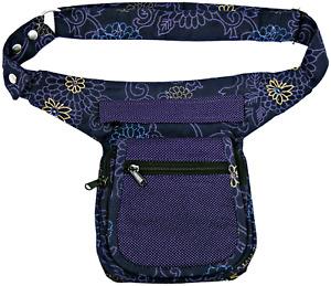 Gürteltasche Damen Nijens Sidebag Bauchtasche Hüfttasche Lila Hipbag violett NEU