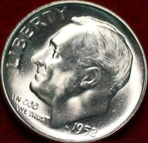 Uncirculated 1952-S San Francisco Mint Silver Roosevelt Dime