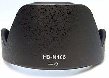 HB-N106 Bayonet Lens Hood for Nikon D3200 18-55mm f3.5-5.6G VR AF-P 10-100mm PD