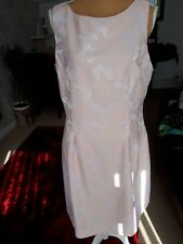 NEW ROMAN PEACH FIT AND FLARE DRESS SIZE 16 BNWT