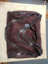 borsa stella mccartney falabella Nera Bordeaux