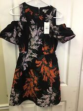 Whistles Gwyneth Jacquard Cold Shoulder Dress Us Size 4