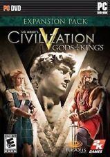 SEALED NEW Sid Meier's Civilization V GODS & KINGS for MAC Game Expansion Pack 5