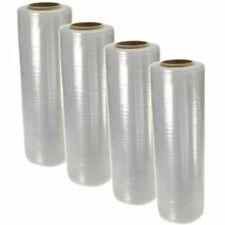 18 X 1500 80 Gauge Pallet Wrap Stretch Film Shrink Hand Wrap 1500 4 Rolls