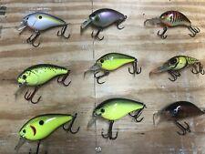 **Lot of (9) Bass fishing crank baits***