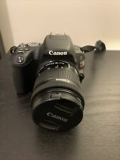 Canon EOS Rebel SL2 / 200D Black 24.2 MP DSLR with Bag and 18-55mm Lens (USED)
