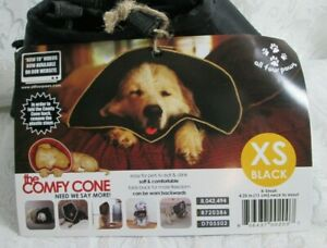 The Comfy Cone Black XS Soft Washable Comfortable Many Uses