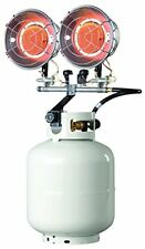Mr. Heater, Inc. F242655 Tank Top Heater, Twin Burner With Electronic Spark