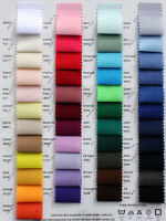"""Plain Solid Colour POLYCOTTON FABRIC 1/2M, 1M, 2M, 3M, 5Metre- 114cm/44"""" Wide"""