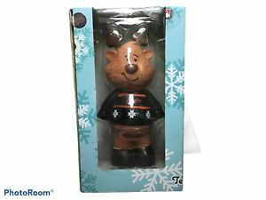 "MLB Baltimore Orioles Christmas 7"" Reindeer Figure Decoration New"