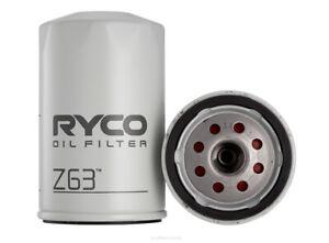 Ryco Oil Filter Z63 fits Audi Super 90 1.8