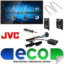 "Ford Focus MK1 JVC 6.8"" Bluetooth USB Car Stereo doble DIN Kit de volante"