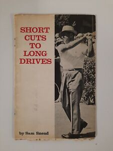 VINTAGE GOLF GUIDE Sam SNEAD Short Cuts To Long DRIVES