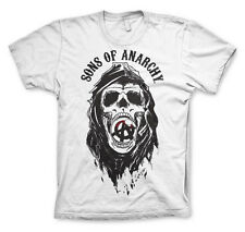 Officially Licensed Sons of Anarchy - Draft Skull BIG & TALL 3XL,4XL,5XL T-Shirt