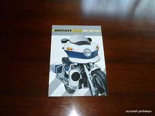 NOS Ducati Police Polizia 350 650 750 Pantah Brochure