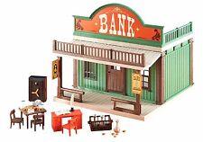PLAYMOBIL 6478 Banco del Oeste, Western, Bank, Dioramas, Casa, House NUEVO / NEW